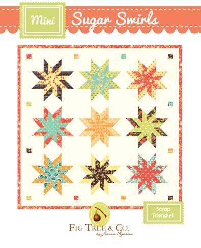 Mini Sugar Swirls Quilt Pattern