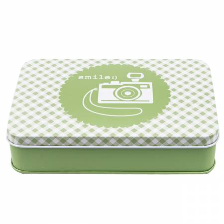 Bee in My Bonnett Sewing Tin - Smile Green