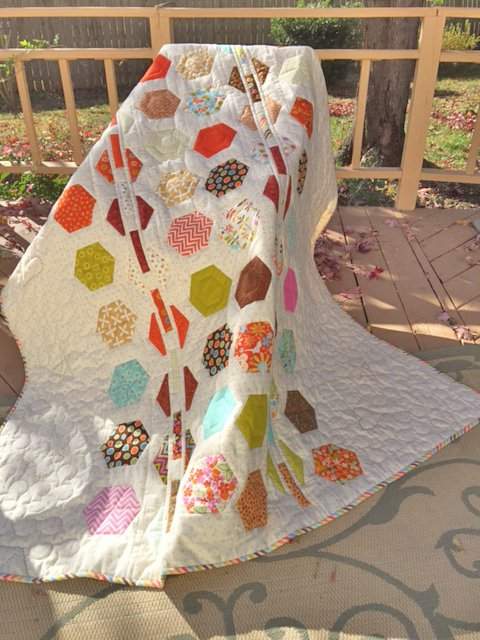 Hexie Heaven Quilt Kit