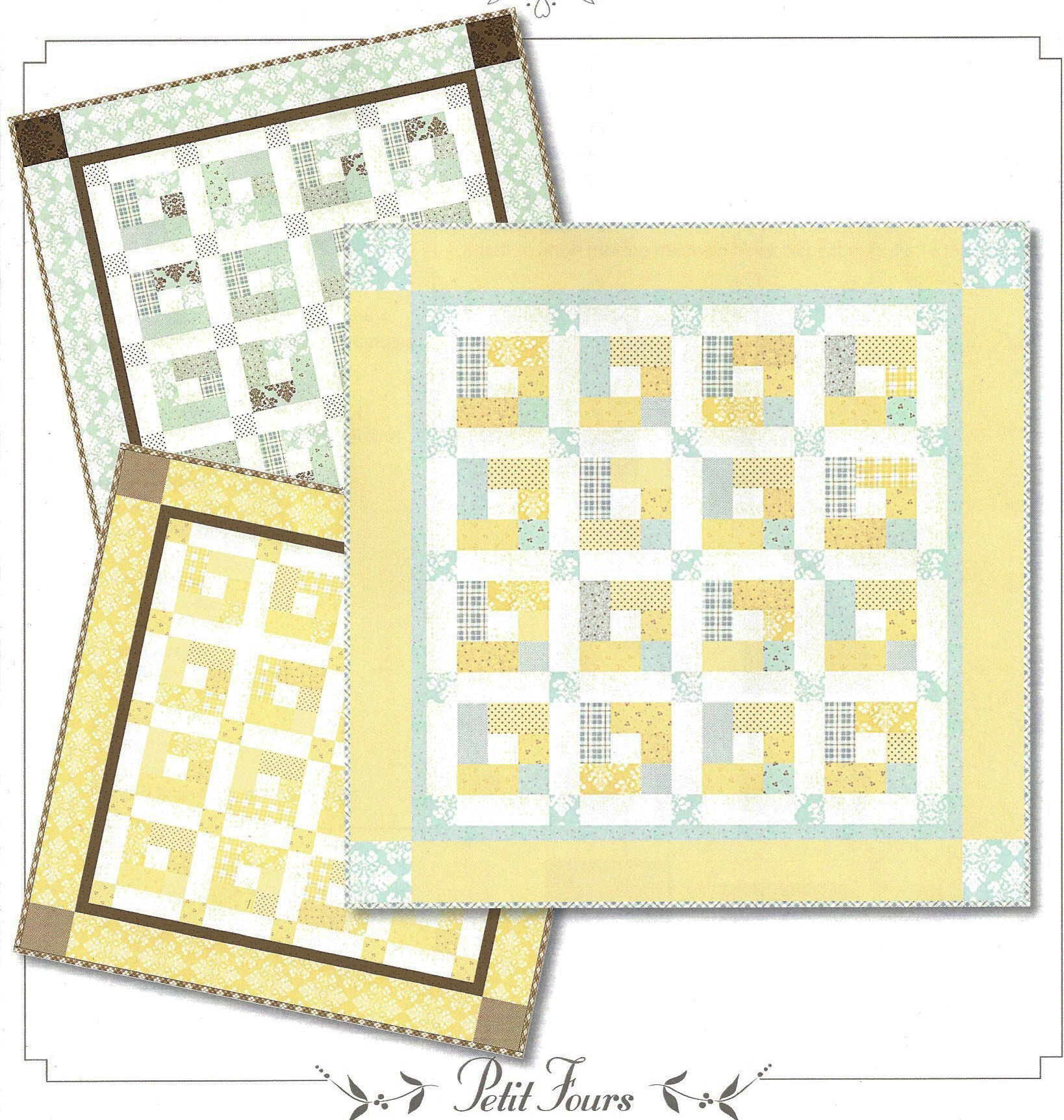 Petit Fours Quilt Pattern