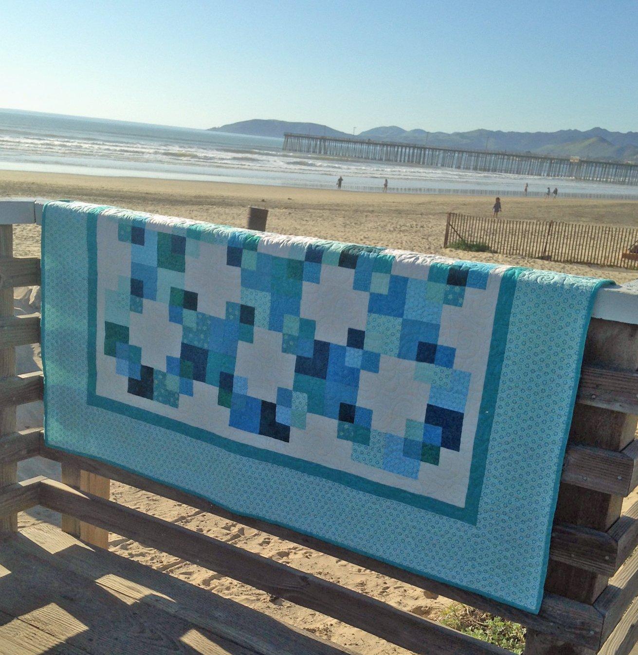 Blue Fusion Quilt Kit