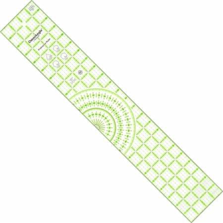 Ruler- Omnigrid Protractor 4 x 24
