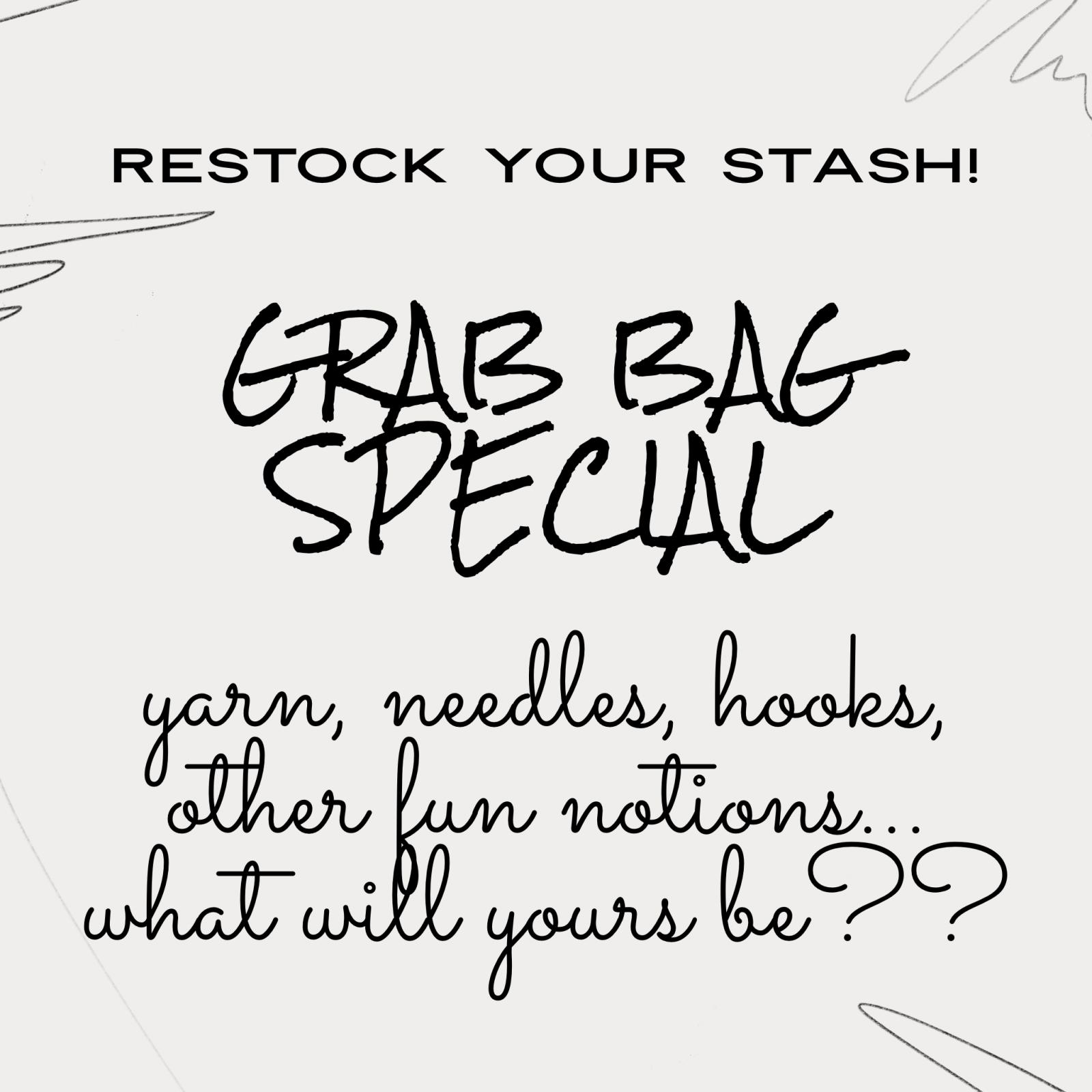 Restock Your Stash Grab Bag