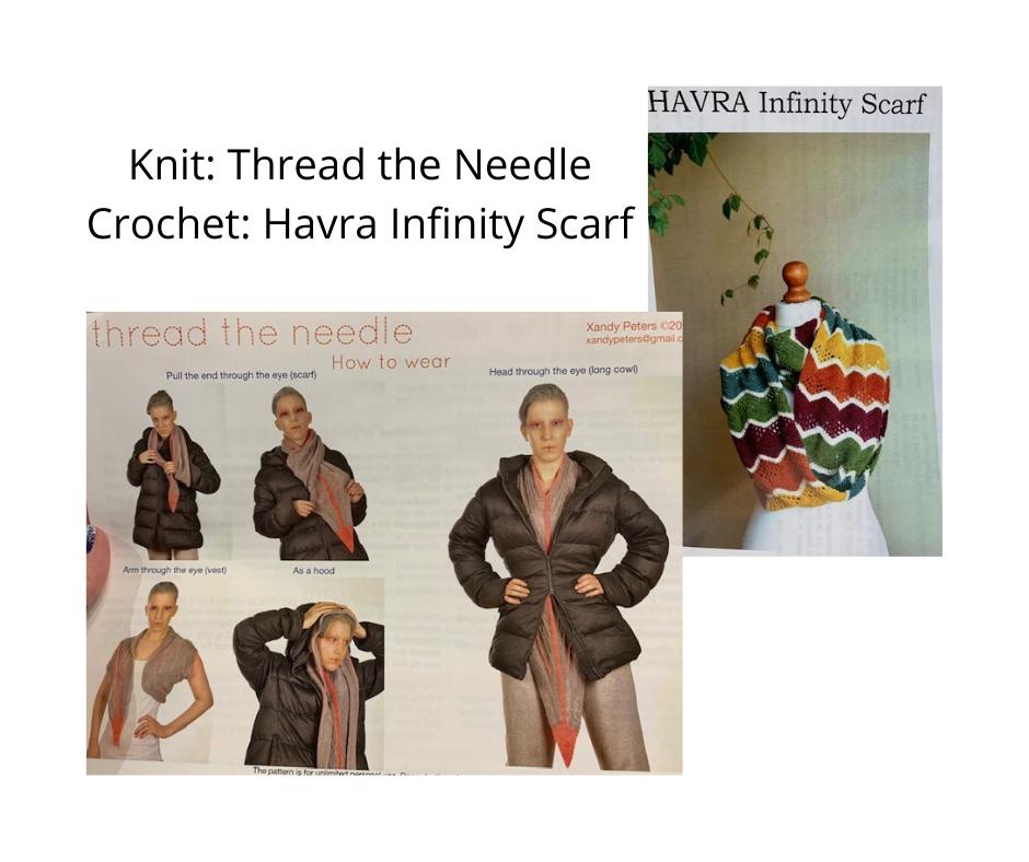 Thread The Needle or Havra Cowl Kits