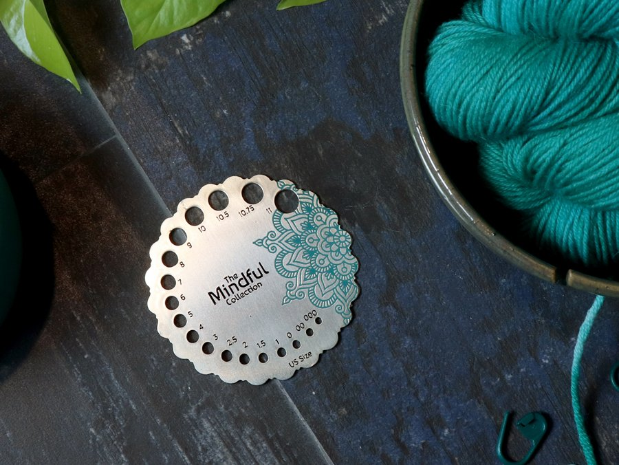 KP Mindful Collection Sterling Needle Sizer