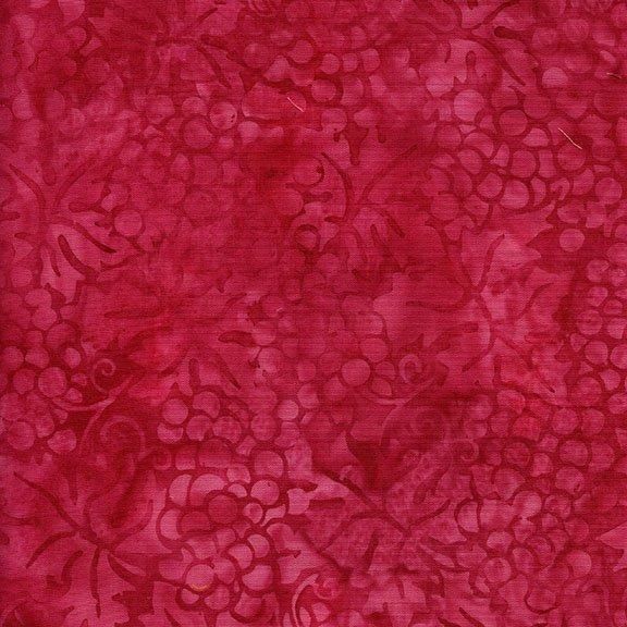 111709325 Hot Pink Grapes Island Batiks