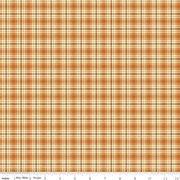 C10828 Orange Plaid Adel in Autumn