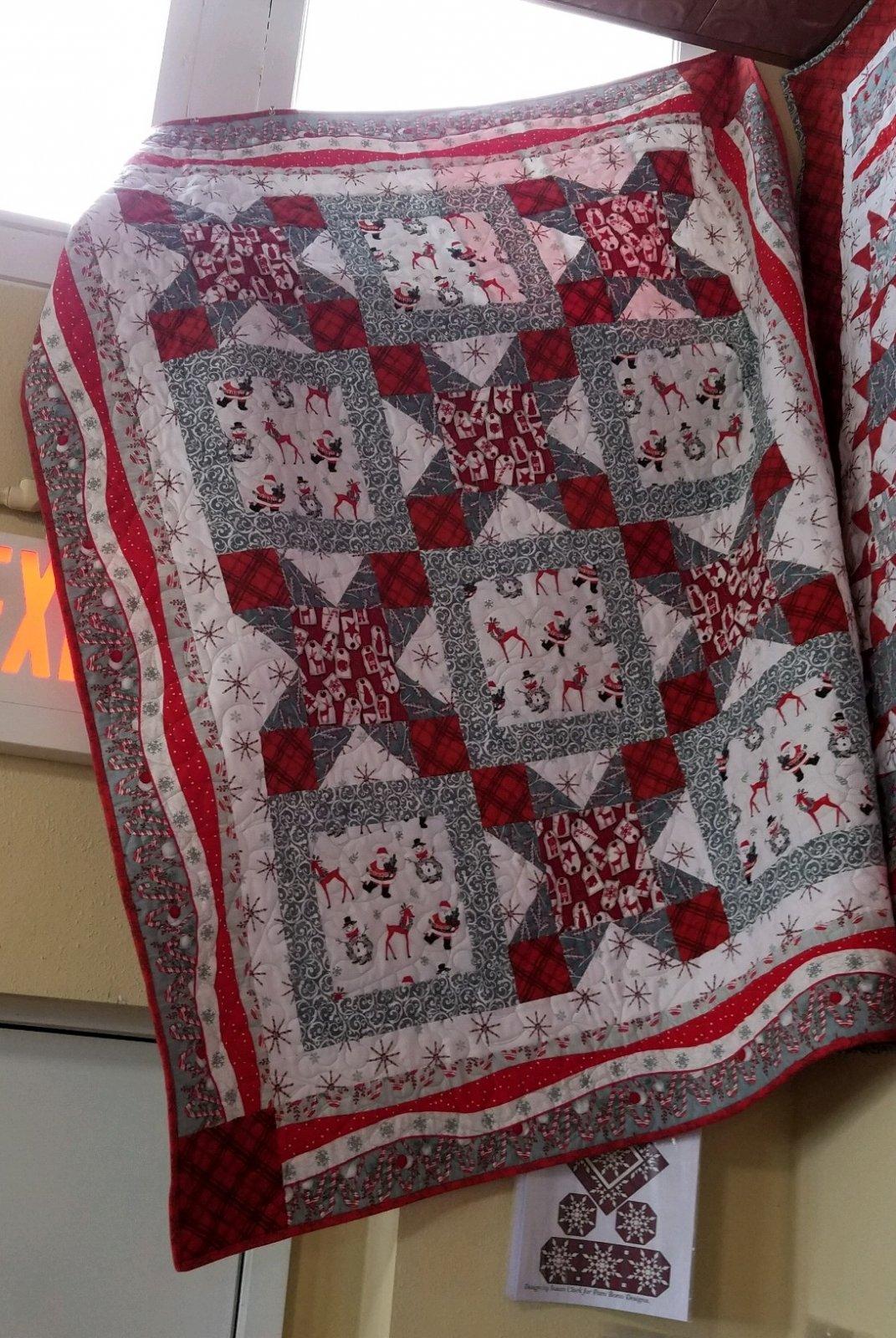 Quilt #2 Frosty Friends Flannel Quilt Kit