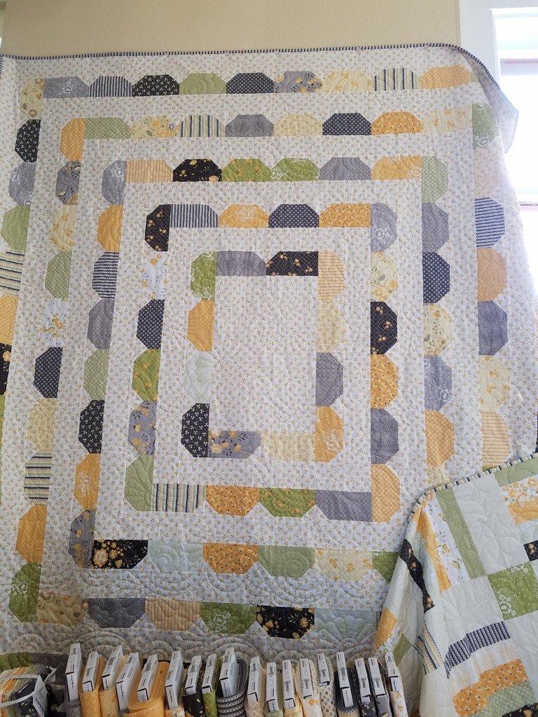 Garden District/Pepper Flax Quilt Kit