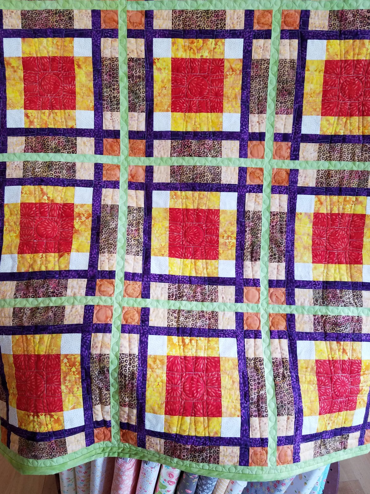 Mad For Plaid Quilt Kit