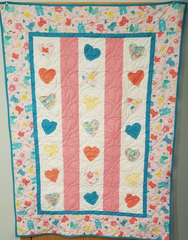 Pitter Patter Baby Quilt Kit