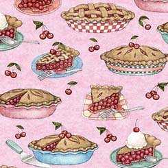 26328 P Cherry Pies Pink Home Sweet Home