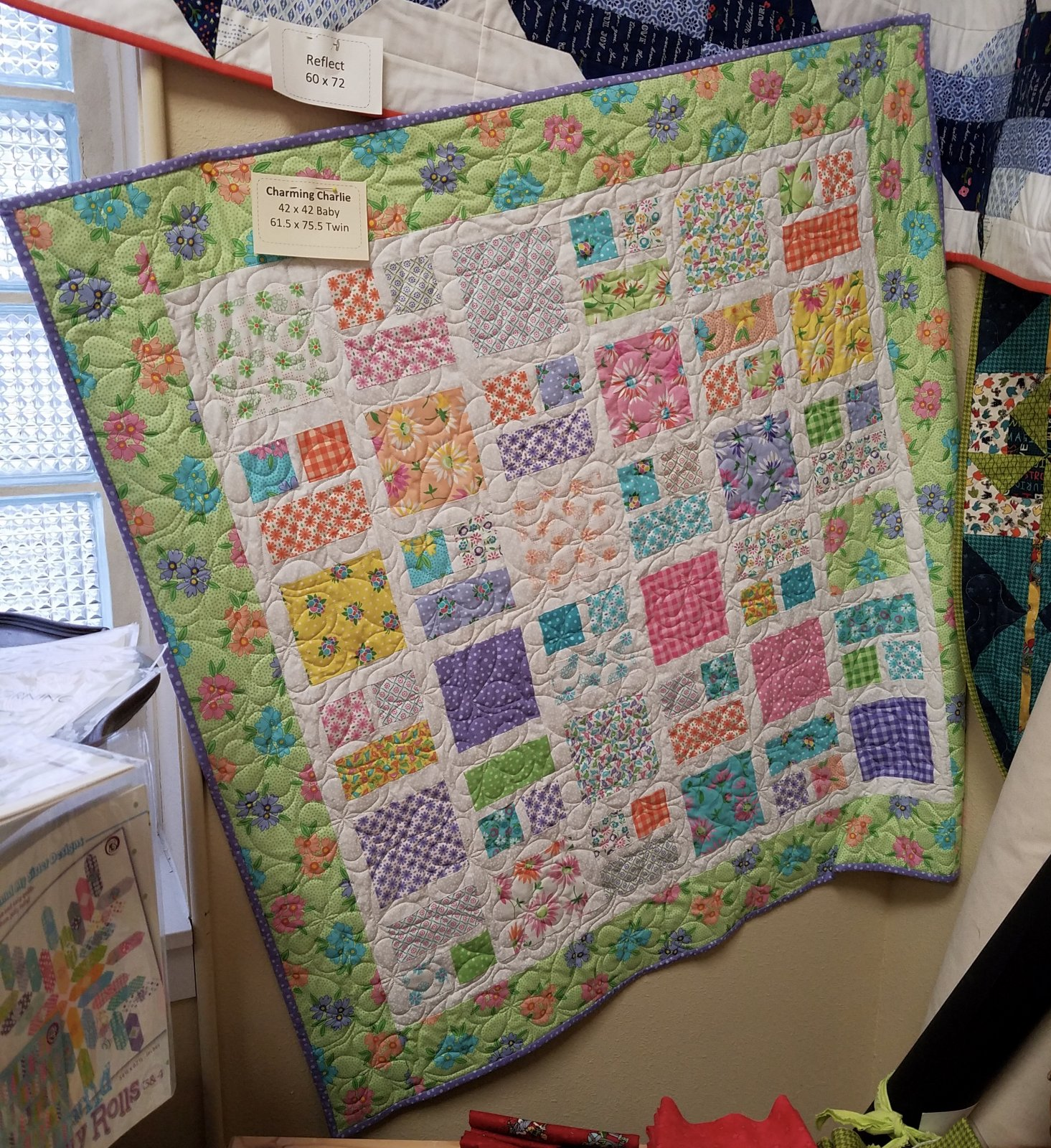 Charming Charlie/Good Day Baby Quilt Kit