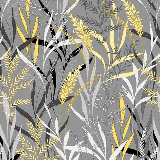 7738P 11 Gray/Yellow Pearl Willow Limoncello
