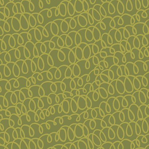 8709 49 Woolly Bully Olive All's Wool that Ends Wool