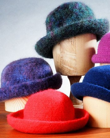 AC11 Crocheted Felt Hats