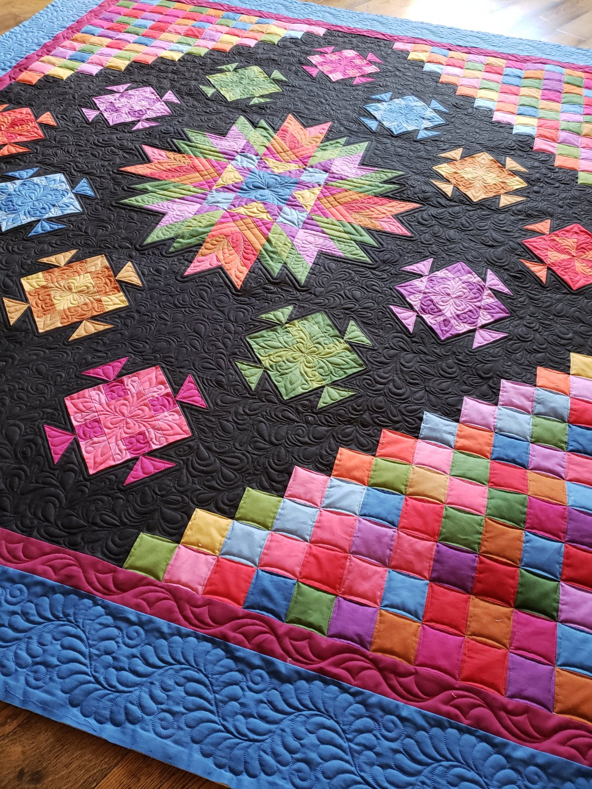 Amish with a Twist IV Block of the Month