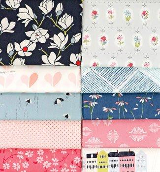 10 Fat Quarter Bundle Amy Sinbaldi  Color Master Designers Palette 10 Fat Qtr