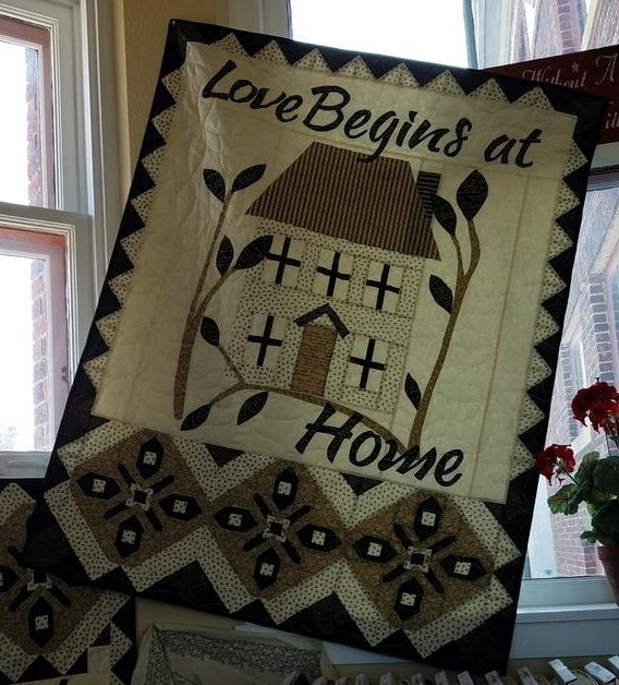 Love Begins At Home kit/At Home Banners/Home