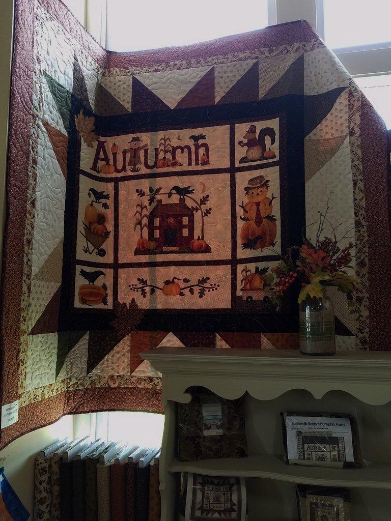 Buttermilk Autumn Quilt 1 Kit