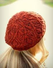 Autumn Vines Beret Pattern