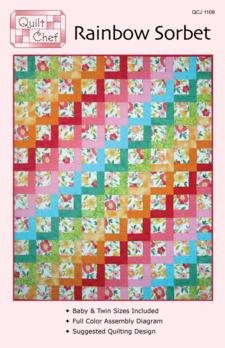 Rainbow Sorbet Pattern