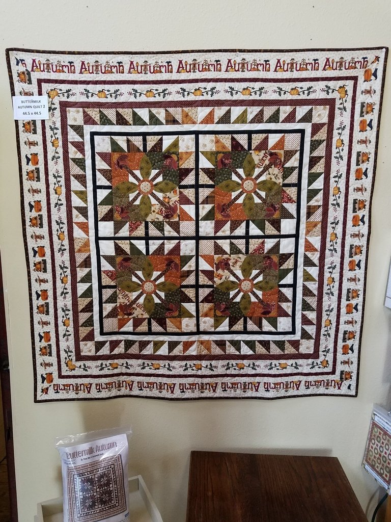 Buttermilk Autumn Quilt 2 Kit