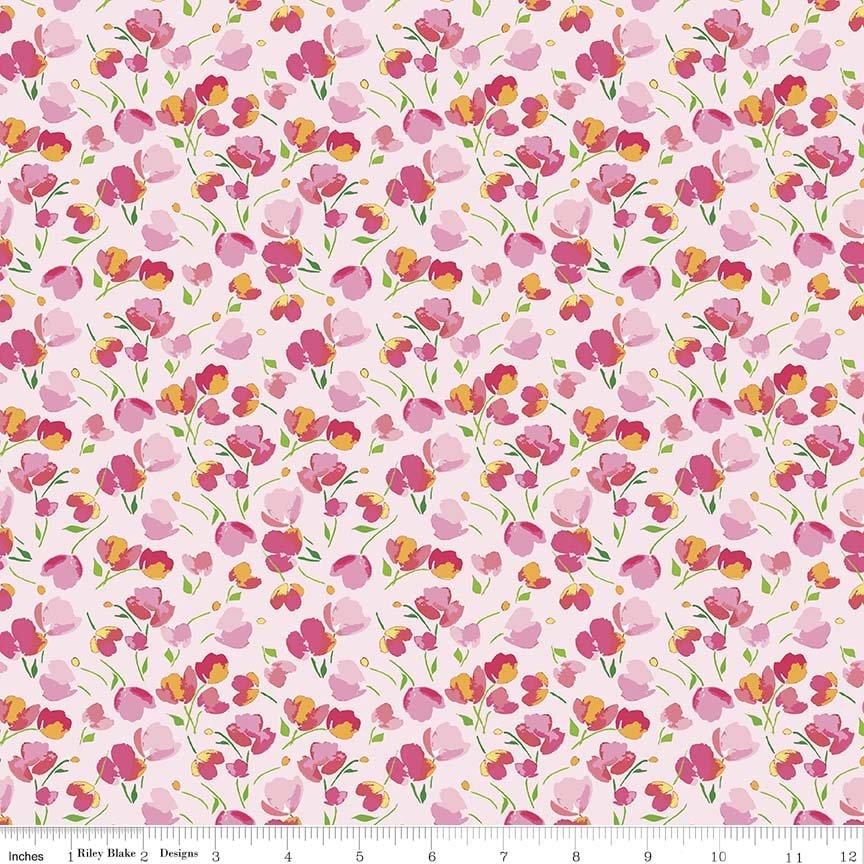 Floral Pink Paige's Passion