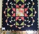 Town Square Garden/Blushing Peonies quilt Kit