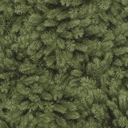 CM5168 Green Packed Pine Needles w/Metalic