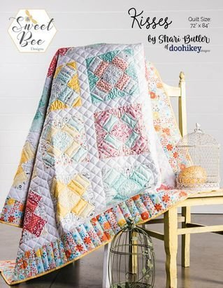 Kisses Quilt Kit-In the Meadow