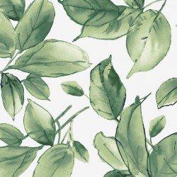 MAS9337-G Watercolor Hydrangeas Leaves