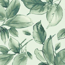 MAS9337-G2 Watercolor Hydrangeas Leaves