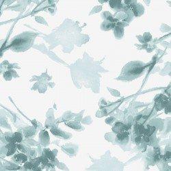 MAS9338-B Watercolor Hydrangeas Tonal Floral