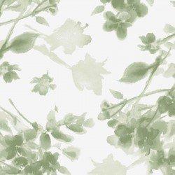 MAS9338-G Watercolor Hydrangeas Tonal Floral