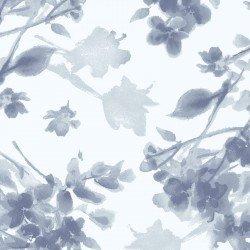 MAS9338-V Watercolor Hydrangeas Tonal