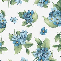 MAS9339-B Watercolor Hydrangeas Hydrangea Posy