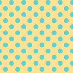 Dots BLUE Little One Flannel Too