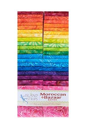 Moroccan Bazaar  Strip Pack Island Batiks