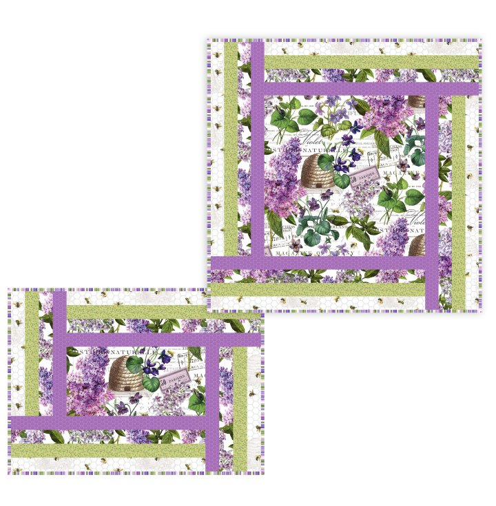Drive Thru Table Topper and Placemat Kit/Chelsea