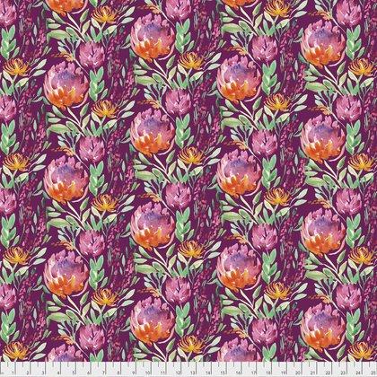 PWCH004.Cabernet thistle flowers  Artichoke Garden