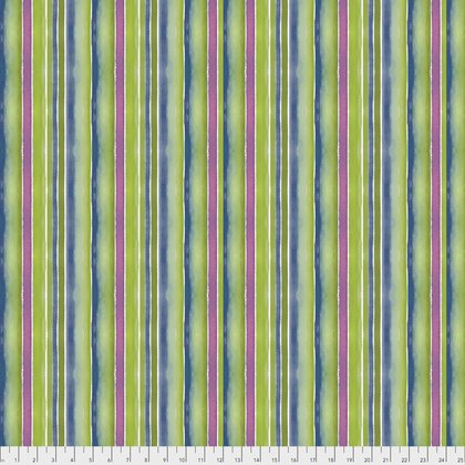 PWCH007.Green Stripes  Artichoke Garden