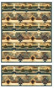 Saddle Blanket Quilt  kit/Stonehenge
