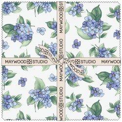 SQ-MASWAH Watercolor Hydrangeas 10 Squares (42pcs)