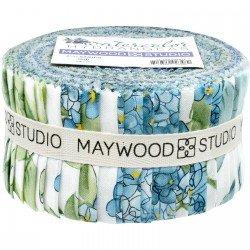 ST-MASWAH Watercolor Hydrangeas 2.5 strips 40 strips
