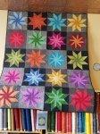 Tambourine-Strip It Three Ways: Series 4 Quilt Kit - SAMPLE ONLY