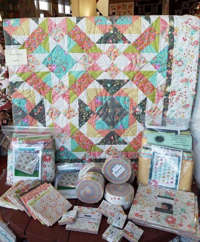 Floral Fancy/Sunnyside Up Quilt Kit