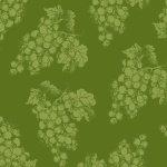 1134-66 Green Grape Tonal Vintage