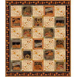 Welcome Home Rustic Fall Quilt kit