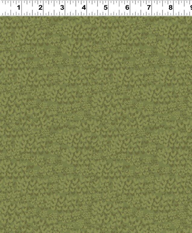Y2448-25 Dark Olive Tonal Hills Quilt MN 2018 Shop Hop Fabric